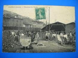 Cransac 12 . Mines Mine . Chargement Du Charbon . - France