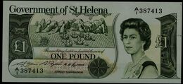 ST. HELENA 1981 BANKNOTES 1 POUNT UNC !! - Isla Santa Helena