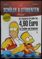 The Simpson Movie Film Carte Postale - Affiches Sur Carte