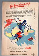 Buvard CAFES NESO   N°2: Donald Duck (M0419) - Koffie En Thee