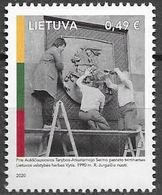 LITHUANIA, 2020, MNH, LITHUANIAN INDEPENDENCE,1v - Other