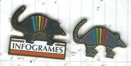 Infogrames Lot 2 Pins - Casinos