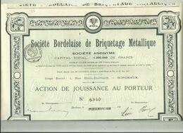ACTION - Bordeaux Societe Bordelaise De Briquetage Metallique - Industrie