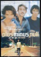 Plus Minus Null Movie Film Carte Postale - Affiches Sur Carte