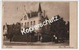 Krefeld, Haus Doerenkamp, Am Tiergarten, 1937 Flugpost (z6182) - Krefeld