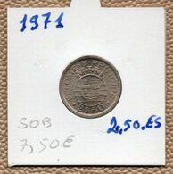 MEC62 - 1971 Sao Tome Et Principe Colonie Portugaise 2$50 Escudos 1971(superbe) - Sao Tome And Principe