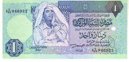 Libya P.59a 1 Dinar 1991   Unc - Libië