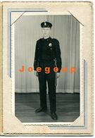 Old Photo Lang Portrait Young Police Man Buenos Aires Argentina - Professions