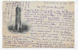 (RECTO / VERSO) TOUR SAINT JACQUES EN 1898 -  - BEAU CACHET ET TIMBRE - CPA PRECURSEUR - France
