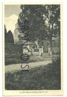 """Vieille église De Xhignesse. Splendidphoto Vranken Ed. Au Verso, Publicité Pour Le Café-Restaurant """"Le Central"""" à Hamoir - Hamoir"""