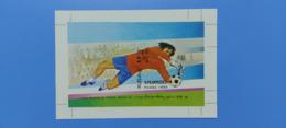 CAMBODGE / CAMBODIA/ S/S FIFA Mondial De Football Mexico' 86. 1985 ( Imperf ) - Cambodia