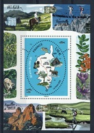 """France, GR20, GR Foothpath In Corsica """"one Of The Top Trails In The World"""", 2020, MNH VF souvenir Sheet - Neufs"""