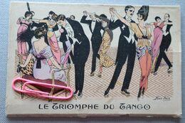 XAVIER SAGER : Lot De 10 Cartes Y Compris La Pochette : Le Triompje Du Tango - Sager, Xavier