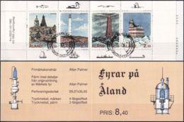 ALAND 1992 Mi-Nr. MH 1 Markenheft/booklet O Used - Aus Abo - Aland