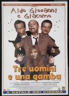 Tre Uomini E Una Gamba Movie Film Carte Postale - Affiches Sur Carte