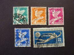SUISSE, Année 1932, YT N° 254 à 259 Oblitérés, Sans Le 258 (cote 15 EUR) - Switzerland