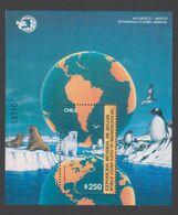 ANTARCTIQUE CHILI 1989 BLOC Washington World Stamp Expo N° 34 Y&T Neuf ** Mnh - Unclassified