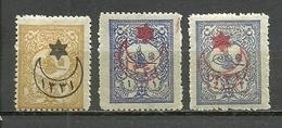 Turkey; 1915 Overprinted War Issue Stamps - Nuevos