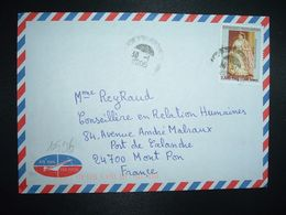 LETTRE Pour La FRANCE TP RANAVALONA II 7.500 Fmg OBL.30-1 2006 DIEGO SUAREZ - Madagascar (1960-...)