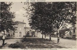ALBI :  Gare  Albi-Madeleine Et  Passerelle - Albi