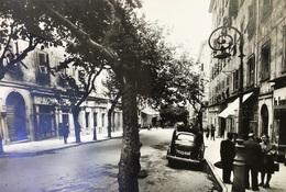 BASTIA-LE COURS-AUTO-VOITURE-MAGASINS-COMMERCES-LAMPADAIRE - Bastia