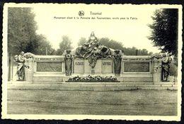 TOURNAI / DOORNIK - Monument à La Mémoire Des Morts Pour La Patrie - Non Circulé - Not Circulated - Nicht Gelaufen. - Tournai