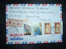 LR à FRANCE TP RANAVALONA II 7.500 Fmg X2+RADAMA I 500 Fmg+FORT DAUPHIN 5.000 Fmg OBL.30-1 2006 ANTSIRANANA DIEGO SUAREZ - Madagascar (1960-...)