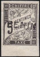✔️ Benin 1894 - Taxe Avec Surcharge - Yv. 1 * MH - €195 - Benin (1892-1894)