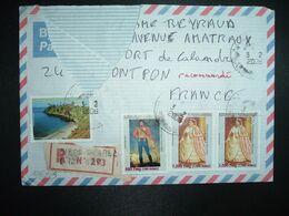 LR à FRANCE TP RANAVALONA II 7.500 Fmg X2+RADAMA I 500 Fmg+FORT DAUPHIN 5.000 Fmg OBL.3-2 2006 ANTSIRANANA DIEGO SUAREZ - Madagascar (1960-...)
