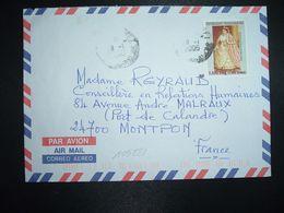 LETTRE Pour La FRANCE TP RANAVALONA II 7.500 Fmg OBL.26-1 2006 DIEGO SUAREZ - Madagascar (1960-...)