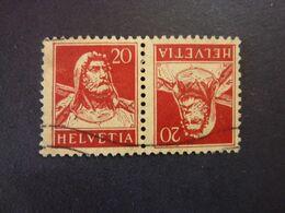 SUISSE, Année 1914-18, YT N° 138b Oblitérés (cote 8 EUR) - Switzerland