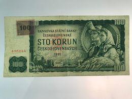 Billet De 100 Couronnes Tchèques - 1961 - Czechoslovakia