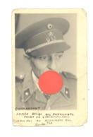 GUERRE 40/45 - Photo Carte - Résistance Armée Belge Des Partisans, Front De L'Indépendance  (Y184)b281 - Weltkrieg 1939-45