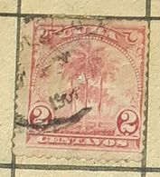 CUBA-1889,PALM TREE-USED STAMP - Oblitérés
