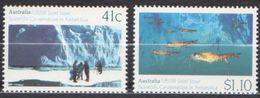 ANTARCTIQUE AUSTRALIE 1990 2 TP Coopération Scientifique N° 1173 à 1174 Y&T Neuf ** Mnh - Francobolli