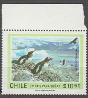 ANTARCTIQUE CHILI 1981 1 TP Antarctique Chilien N° 561 Y&T Neuf ** Mnh - Francobolli