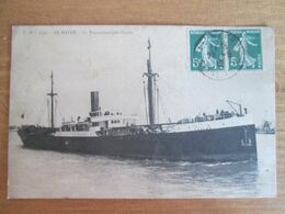Le Havre . Le Transatlantique Guyane - Dampfer