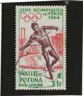 WALLIS ET FUTUNA - PA N° 21 OBLITERE -TB -ANNEE 1964 -COTE : 16 € - Luftpost