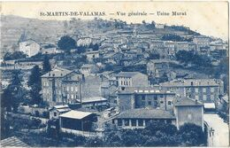 SAINT MARTIN DE VALAMAS (07) Vue Générale Usine Murat - Saint Martin De Valamas