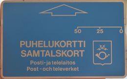 Finland (Sonera) - OD Series - L&G - 010E - Puhelukortti, Samtalskort - 10.1990, 50Mk, 10.000ex, Mint - Finlandia