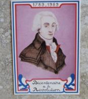 CP Bicentenaire De La Révolution Française Portrait De Couthon Né à Orcet Puy De Dôme Dessin Guy Coster Ed Equinoxe - Histoire