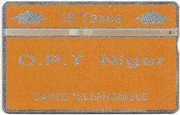 Niger - O.P.T. - L&G - Orange - 404C - 04.1994, 10Units, 6.000ex, Used - Niger