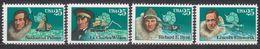 ANTARCTIQUE ETATS UNIS 1988 4 TP Explorateurs N° 1828 à 1831 Y&T Neuf ** Mnh - Briefmarken