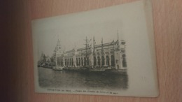 CPA -  EXPOSITION DE 1900. Palais Des Armées De Terre Et De Mer - Exhibitions