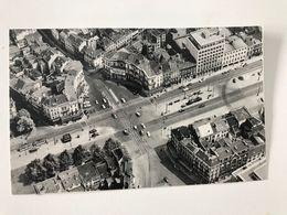 Carte Postale Ancienne BRUXELLES (vue Aérienne)  Place Madou Madouplaats - Plätze