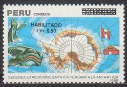 ANTARCTIQUE PEROU 1991 1 TP 2è Expédition N° 952 Y&T Neuf ** Mnh - Francobolli
