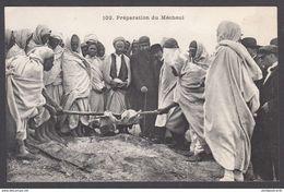 CPA - TUNISIE, Preparation Du Mechoui - Tunisia