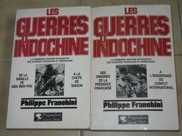 """2  LIVRES """" Les Guerres D'INDOCHINE """" Par Philippe FRANCHINI - Livres"""
