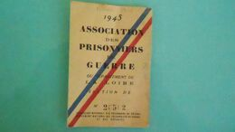 THCARTE DE CARTE MILITAIREN° DE CASIER B7157CIRCULE - War 1939-45