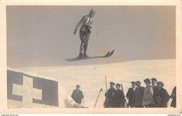 CPA  Suisse, VILLARS SUR OLLON, Ski Jump, Carte Photo, L. Butner -  1930 - VD Vaud